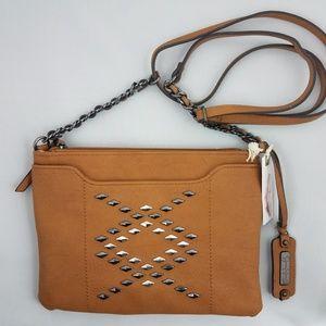 Jessica Simpson brown crossbody purse